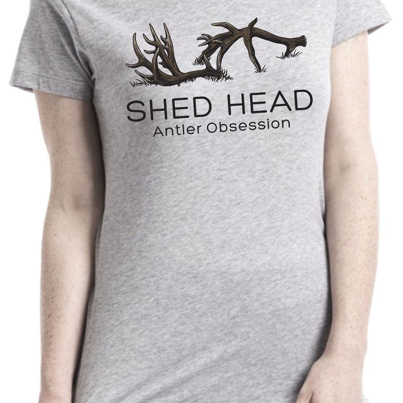 Grey Shed Head Logo